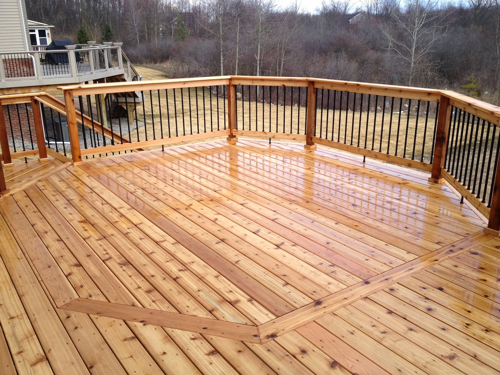 Deck Designs Adding Flair To A Square